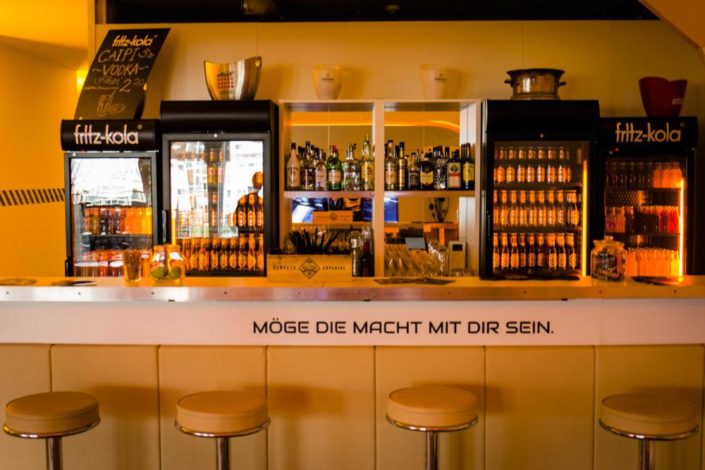 Lasertag St. Pauli Space Bar Close