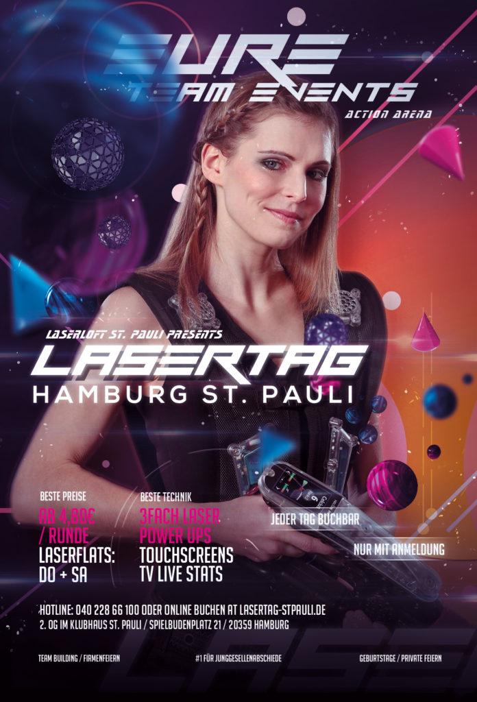 Lasertag Hamburg St. Pauli – Reeperbahn – Event Arena